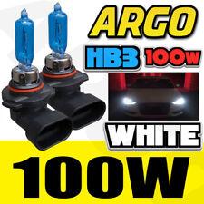 9005 HB3 12v 100w ultra blanca Xenón halógena corto Largo Barra FARO DELANTERO
