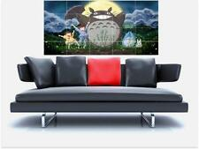 "MY NEIGHBOR TOTORO HUGE 59"" X 31"" INCH BORDERLESS MOSAIC TILE WALL POSTER MANGA"