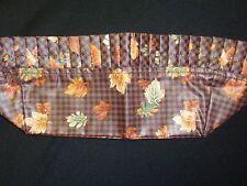 Longaberger LINER, Fall Gingham Fabric, SU, Fits Maple Leaf 1996 Basket, NEW!!!