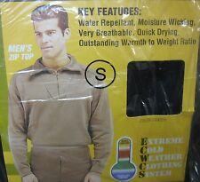 BRAND NEW Military Heavyweight Polypropylene Thermal Long Underwear Zip Top