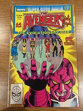 * The AVENGERS The Evolutionary War #17 (Super-Sized Annual Marvel 1988) *