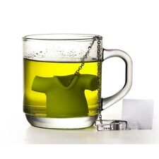 Qualy GREEN TEA SHIRT INFUSER Silicone T-Shirt Loose Tea INFUSER