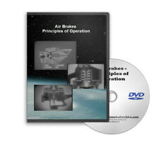 Military Vehicle Air Brakes How They Work Auto Mechanics Training Film DVD - C25