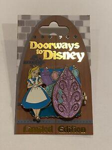 Doorways to Disney Alice in Wonderland Teacups Mad Hatter Hinged 3-D Pin LE 4000