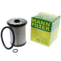 Original MANN-FILTER Kraftstofffilter PU 731 x Fuel Filter