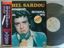 MICHEL SARDOU OLYMPIA 1975 / WITH OBI JAPON
