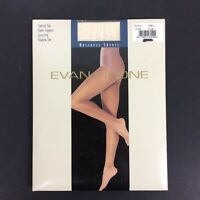 Evan Picone Business Sheers Pantyhose Size 1 Shell Cream Control Top