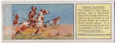 Indian Mustang Horse c80 Y/O Trade Ad Card