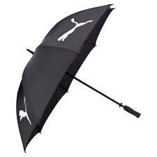 """NEW Puma Golf 54"""" Single Canopy Umbrella for Bag Black & White"""