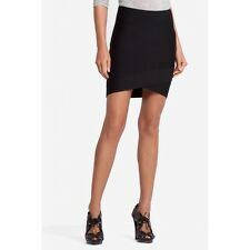 BCBG Maxazria Silvie Power Bandage Skirt in Black Size XXS