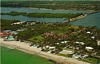 Vintage Postcard - Palm Beach Homes & Estates Unposted Florida FL #1671