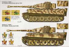 TIGER I Panzerkampfwagen PzKpfw VI Model Art AFV Profile 821 OOP Tank Pictorial
