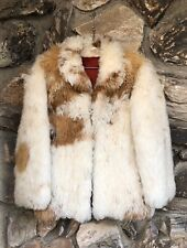 Vintage Mongolian Curly Shaggy Lamb Fur Coat Jacket bohemian hippie