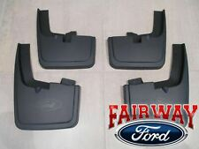 15 thru 20 F-150 OEM Genuine Ford Molded Splash Guards Mud Flaps with WHEEL LIPS