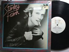 Rock Promo Lp Stanley Frank ...Play It Till It Hurts On A&M