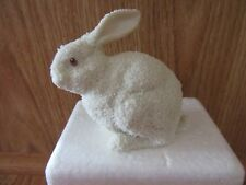 Dept.56 1997 Snowbunny Figurine,Used,In styrofoam box.