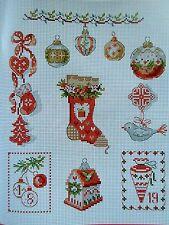 Creation Point de Croix,°61,Veronique Enginger,Noel,Lilli Violette,Weihnacht,Dmc