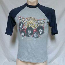 VTG 1982 REO Speedwagon T Shirt Tour Concert Tee 80s Rock Band Raglan Styx Large
