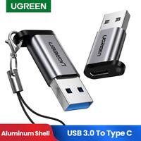 Ugreen USB C Adapter USB A 3.0 to USB Type C Converter Fr Huawei P10 P20 Samsung