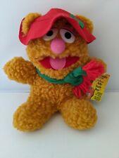 Vintage 1988 Jim Henson'S Muppet Babies Plush 8� Baby Fozzie Bear Mcdonald W/Tag