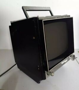 Vintage Sony 9-90UB Black & White Solid State Retro TV Television