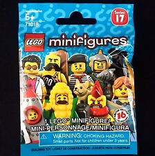 One LEGO 71018 Minifigures Series 17 Factory-Sealed Blind Bag