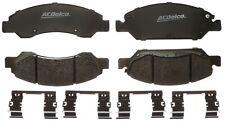 Disc Brake Pad Set-Police Semi-Metallic Disc Brake Pad Front ACDelco Specialty