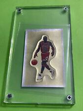 1991-92 Panini Stickers MICHAEL JORDAN Gold Foil Sticker #190 Chicago Bulls Card