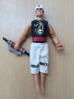 "Rare 1998 Hasbro Action Man Super Ninja Karate Martial Arts 12"" Doll Figure"