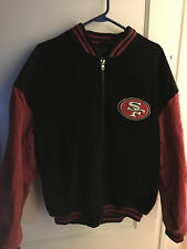 San Francisco 49'ers Leather Jacket Men's Size L