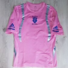 Maillot Shirt Training Rugby Techfit Adidas Player Issue Stade Français France