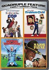 KINDERGARTEN COP / PROBLEM CHILD / MAJOR PAYNE / KICKING & SCREAMING 2 DISC R1