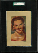 SGC 3  JUDY GARLAND 1953 Kwatta Chocolates Film Stars Card EXTRA LARGE CARD
