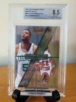 1997 BOWMAN'S BEST - MICHAEL JORDAN MIRROR IMAGE #MI1 BGS 8.5 NM/MT+ Insert 🔥