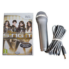 Disney Sing It Party Hits + Logitech USB Microphone - Wii / Wii U - Music, Songs