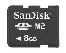 Genuine Sandisk 8GB 8G M2 Memory Stick Micro M2 in Sydney