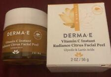 Derma E Vitamin C Instant Radiance Citrus Facial Peel  2 oz  56 g BNIB SR$24