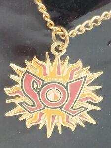 WNBA Miami Sol Necklace