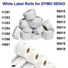 LABEL TAPE ROLLS 99010 11352 FOR DYMO LABELWRITER SEIKO SLP 330 400 420 450 4XL