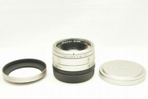 CONTAX Carl Zeiss Planar T 35mm F2 AF Lens for G1 G2 G Mount w/ Hood #211016z