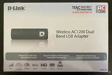 D-link DWA-182 Wireless AC1200  Dual Band USB Adapter - NEW