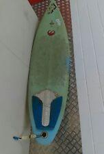 "Used Nichol SurfBoards Australia ""GLO"" GREEN BOARD 6' X 17.5"""