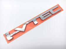 GENUINE HONDA i-VTEC REAR CHROME EMBLEM BADGE ACCORD CIVIC JAZZ ODYSSEY
