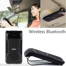 Multipoint Car Sun Visor Clip Bluetooth Cellphone Handsfree Speakerphone Speaker
