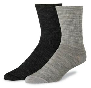Red Wing Wool Crew Liner - Light Grey and Charcoal