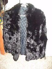 Women Vintage Somerset Furs 100% Genuine Rabbit Fur Coat NWT