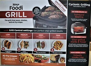 Ninja Foodi Grill 4-in-1 Indoor Grill w/ 4-Qt Air Fryer #AG300