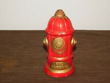 """New ListingVintage 8 1/2"""" High Ceramic Fire Hydrant No Parking Coin Money Bank"""