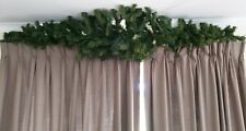 Christmas Garland DIY Decoration 240 cm Green Spruce Wire Spine Xmas Hanging