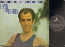 RAYMOND van het GROENEWOUD Leven en Liefdes LP 1981 Studio & LIVE